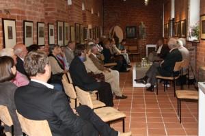 Viele Havelberger und Gäste folgten der Einladung ins Prignitz-Museum am Dom Havelberg.