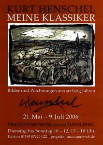 2006-Plakat-Ausstellung-Kurt-Henschel-Prignitz-Museum-Havelberg